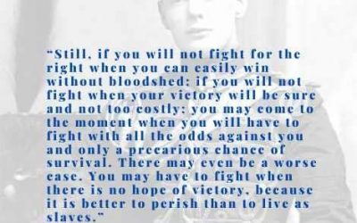 If you will not fight…